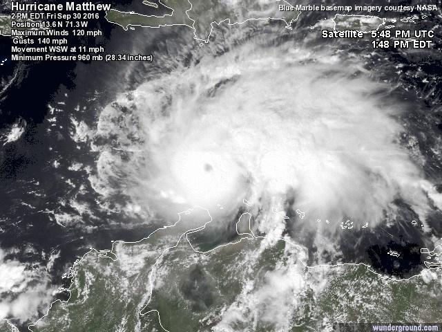 Hurricane Matthew: The Scary Clown of Hurricanes!.