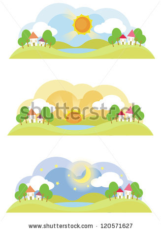 The Afternoon Sun Stock Vectors, Images & Vector Art.