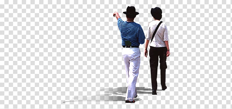 Two person walking, Middle age, Walking middle.