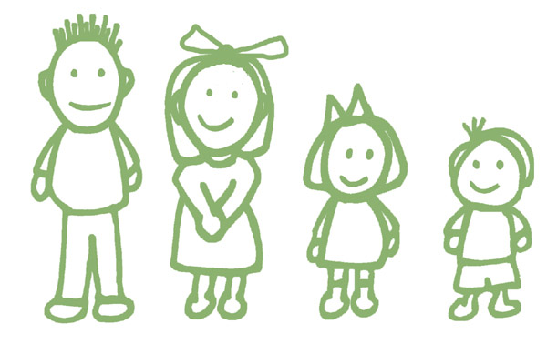 Youngest Child Clipart.