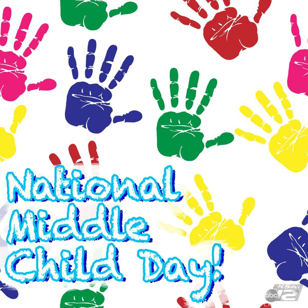 Middle Child Day.