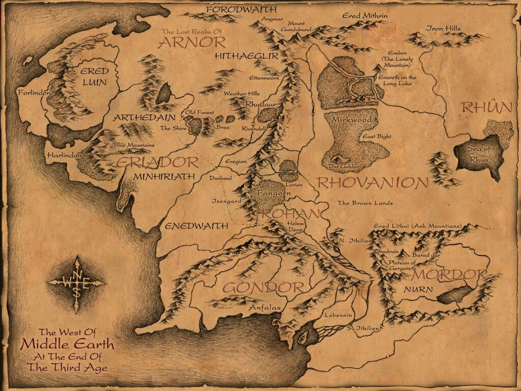 Middle earth clipart.