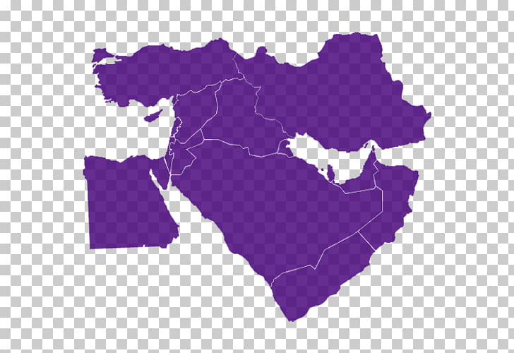 Middle East Map Persian Gulf , map PNG clipart.
