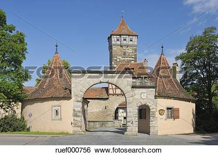 Stock Images of Germany, Middle Franconia, Ansbach district.