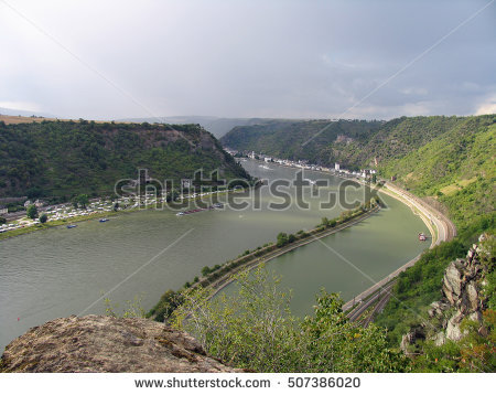 Middle Rhine Valley Stock Photos, Royalty.