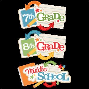 Middle School Titles SVG.