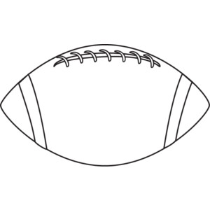 Middle School Football Clipart Black And White.