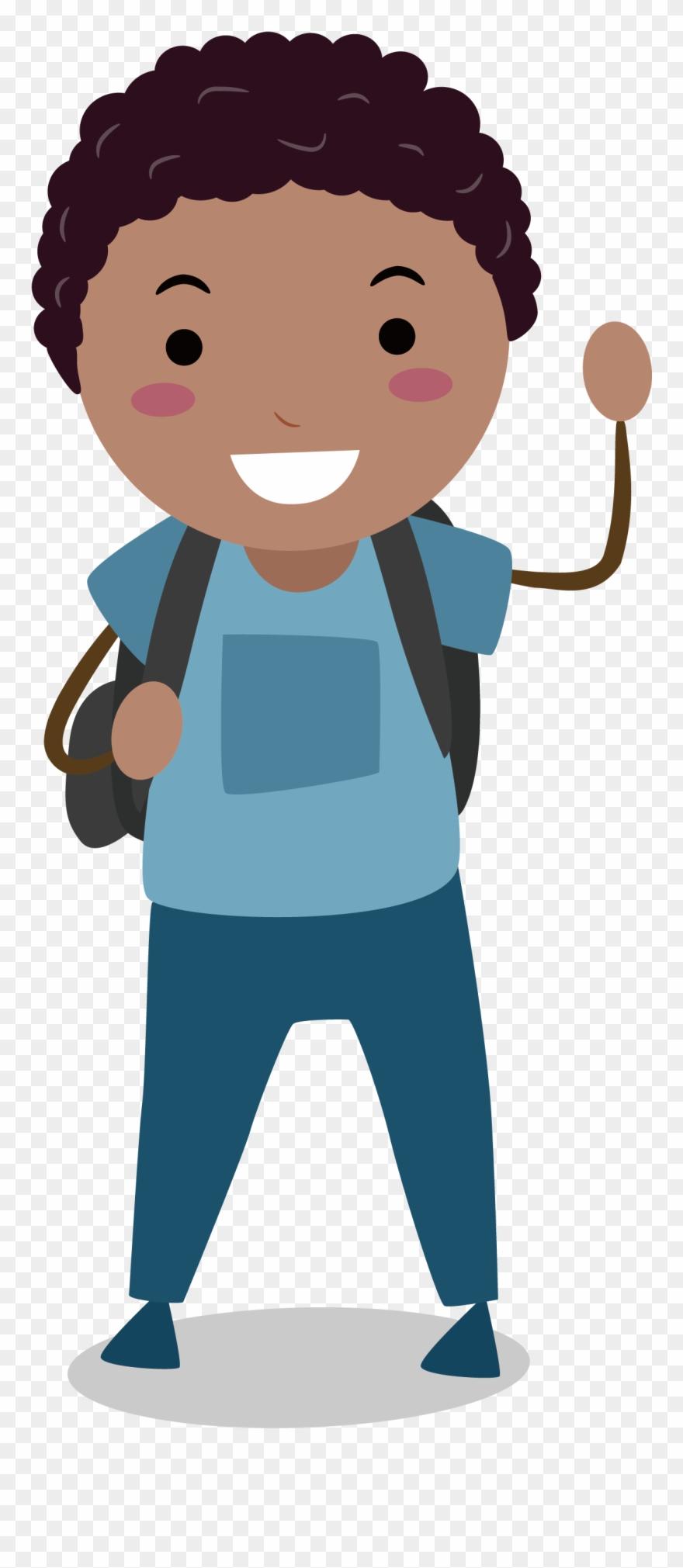 Male Clipart Middle School Boy.
