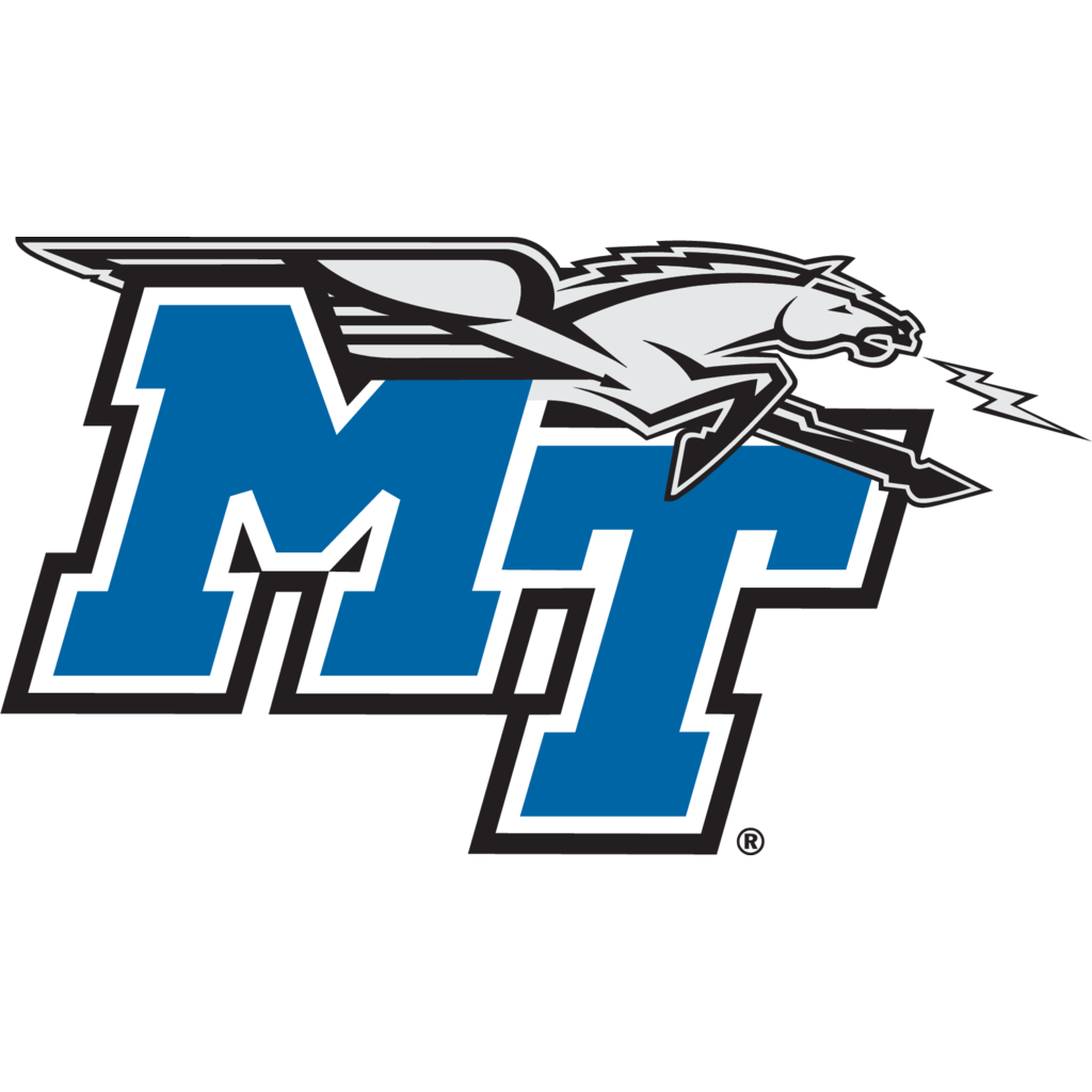 Middle Tennessee State Blue Raiders logo, Vector Logo of.