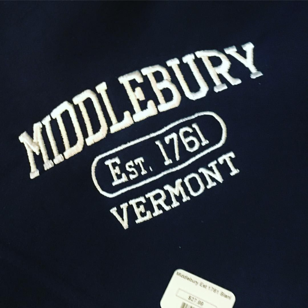 Sweatshirts and more #Middlebury #vt.