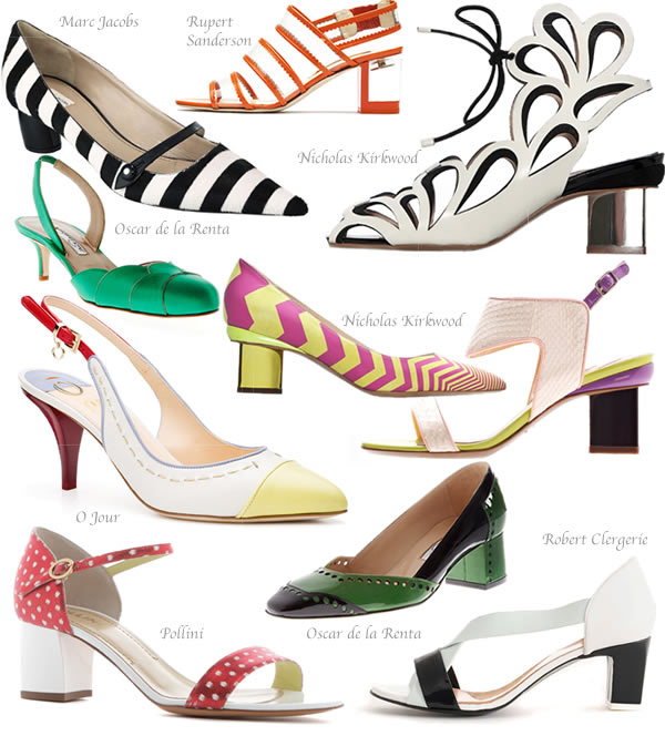 The best designer shoes for spring 2013.