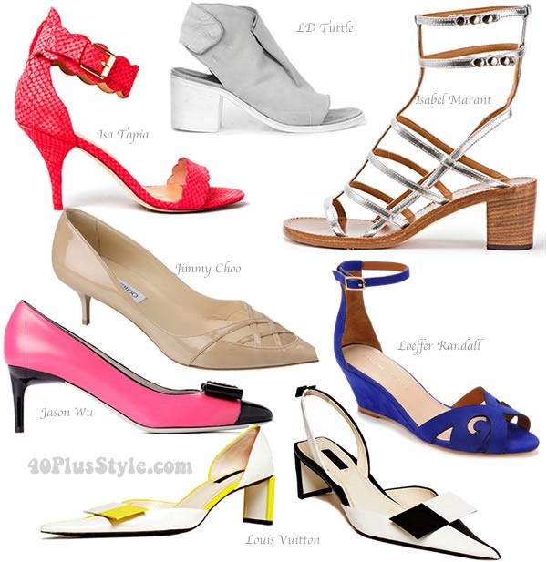 The best designer shoes for spring 2013.
