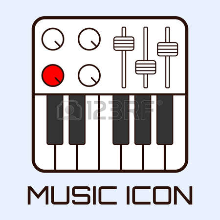 Keyboard Midi Cliparts, Stock Vector And Royalty Free Keyboard.
