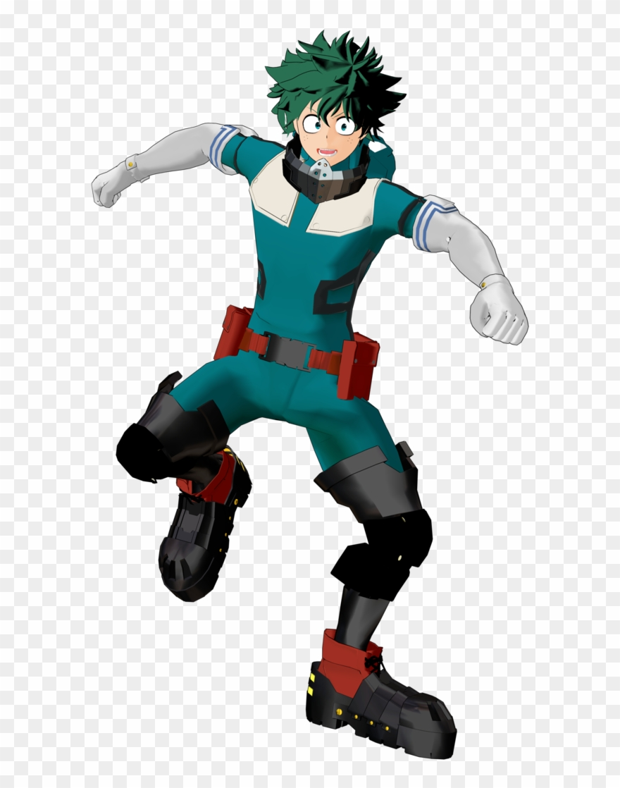 Clip Art Izuku Midoriya Gamma Render Deku Suit With.