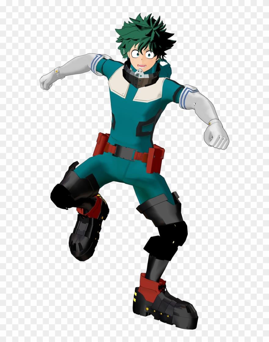 Clip Art Izuku Midoriya Gamma Render Deku Suit With.