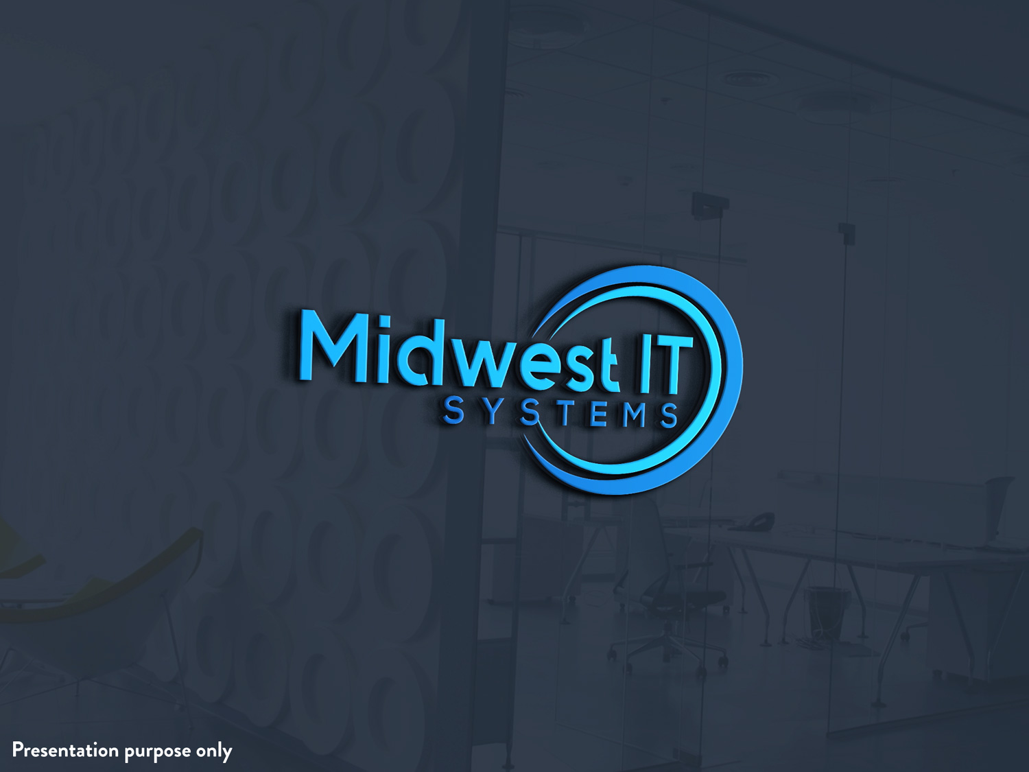 Bold, Feminine, Building Product Logo Design for Midwest IT.