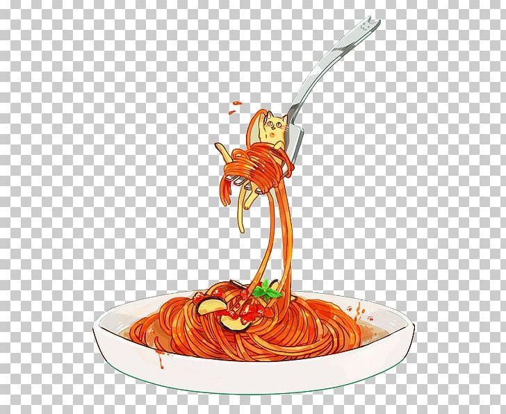 Doughnut Pasta Mie Ayam Italian Cuisine Spaghetti With.