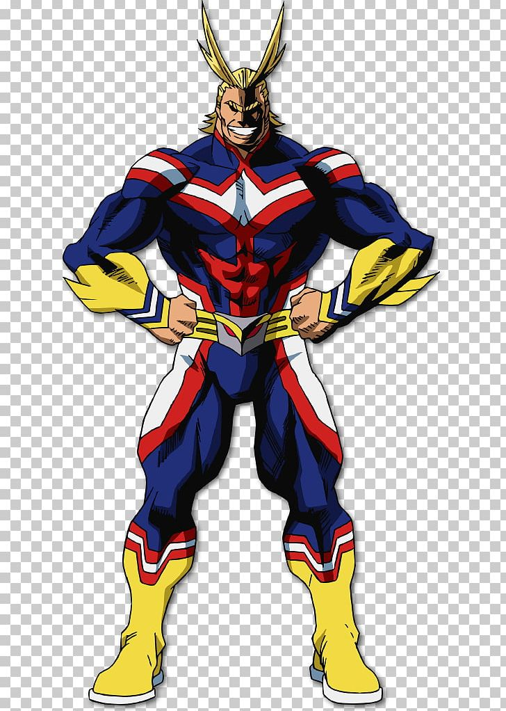 All Might Cosplay Costume My Hero Academia Clothing PNG.