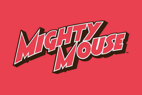 Mighty Mouse Here I Come Rectangular Cufflinks.