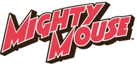 Mighty mouse Logos.