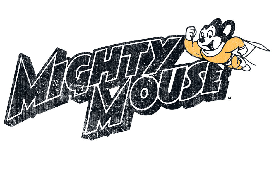 Mighty Mouse Might Logo Juniors Tank.