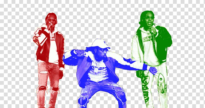 Bad and Boujee Migos Culture Music Song, others transparent.