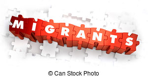 Illegal migrants Stock Illustrations. 454 Illegal migrants clip.