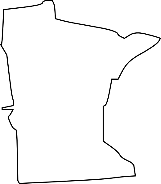 Minnesota State Clear Clip Art at Clker.com.