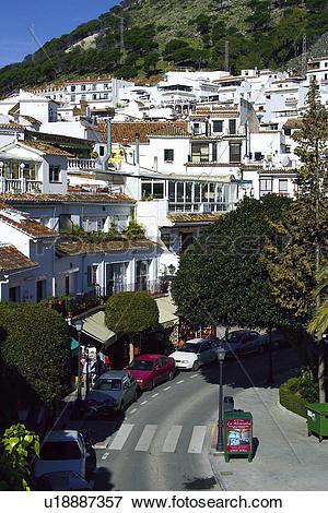 Picture of Spain, Andalusia, Andalucia, Costa del sol, Mijas.