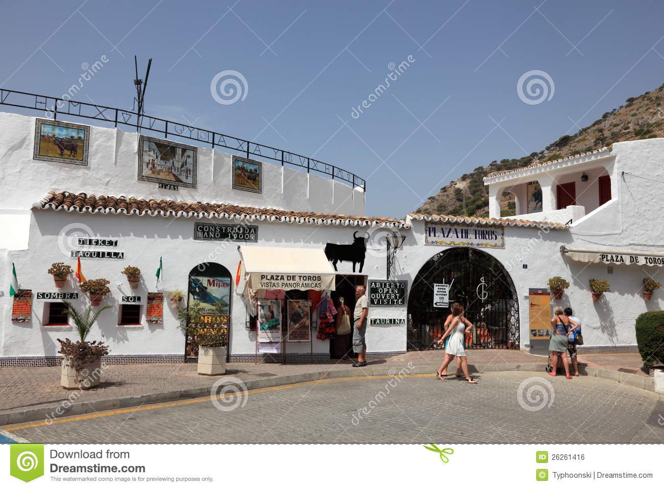 Mijas Pueblo, Spain Stock Photos.