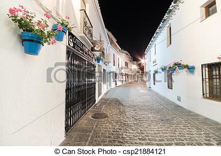 Stock Photo of MIJAS, SPAIN.