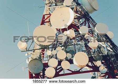 Picture of Communication mast, Mijas, Costa del Sol, Malaga.