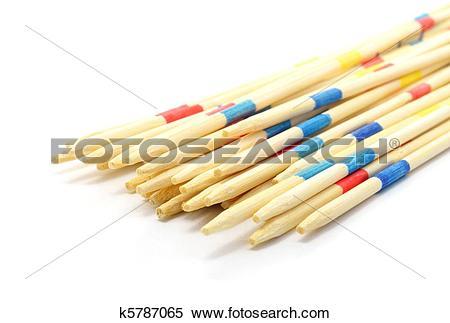 Stock Image of mikado sticks k5787065.