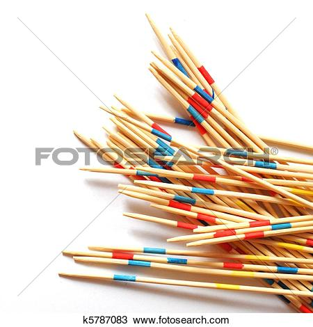 Stock Photo of mikado sticks k5787083.