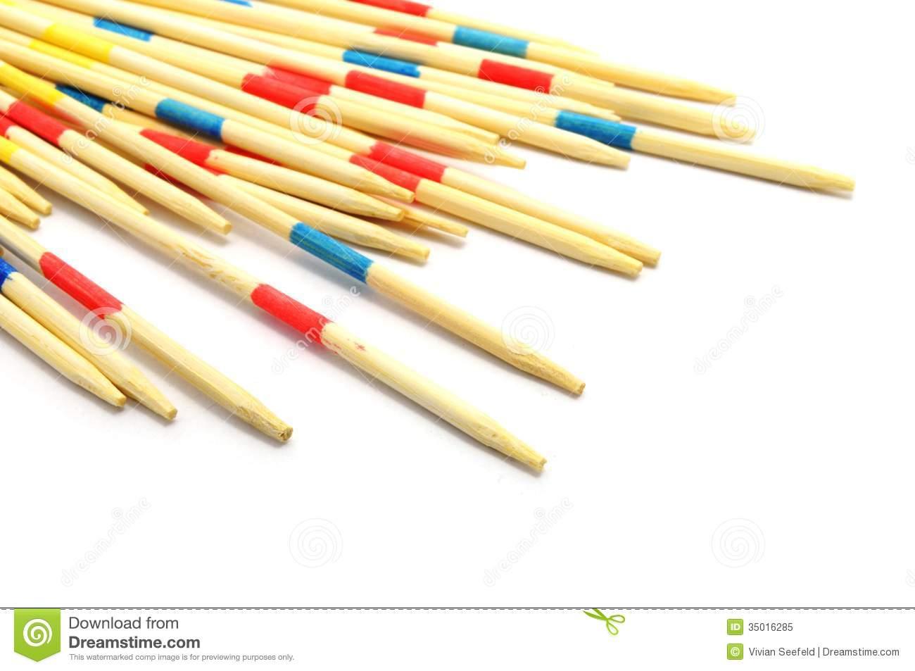 Mikado Sticks Royalty Free Stock Photo.