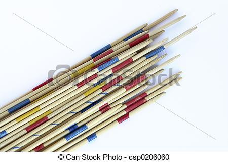 Stock Photography of mikado.