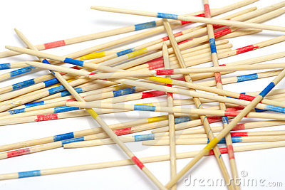 Mikado Game Skill Stock Photos, Images, & Pictures.