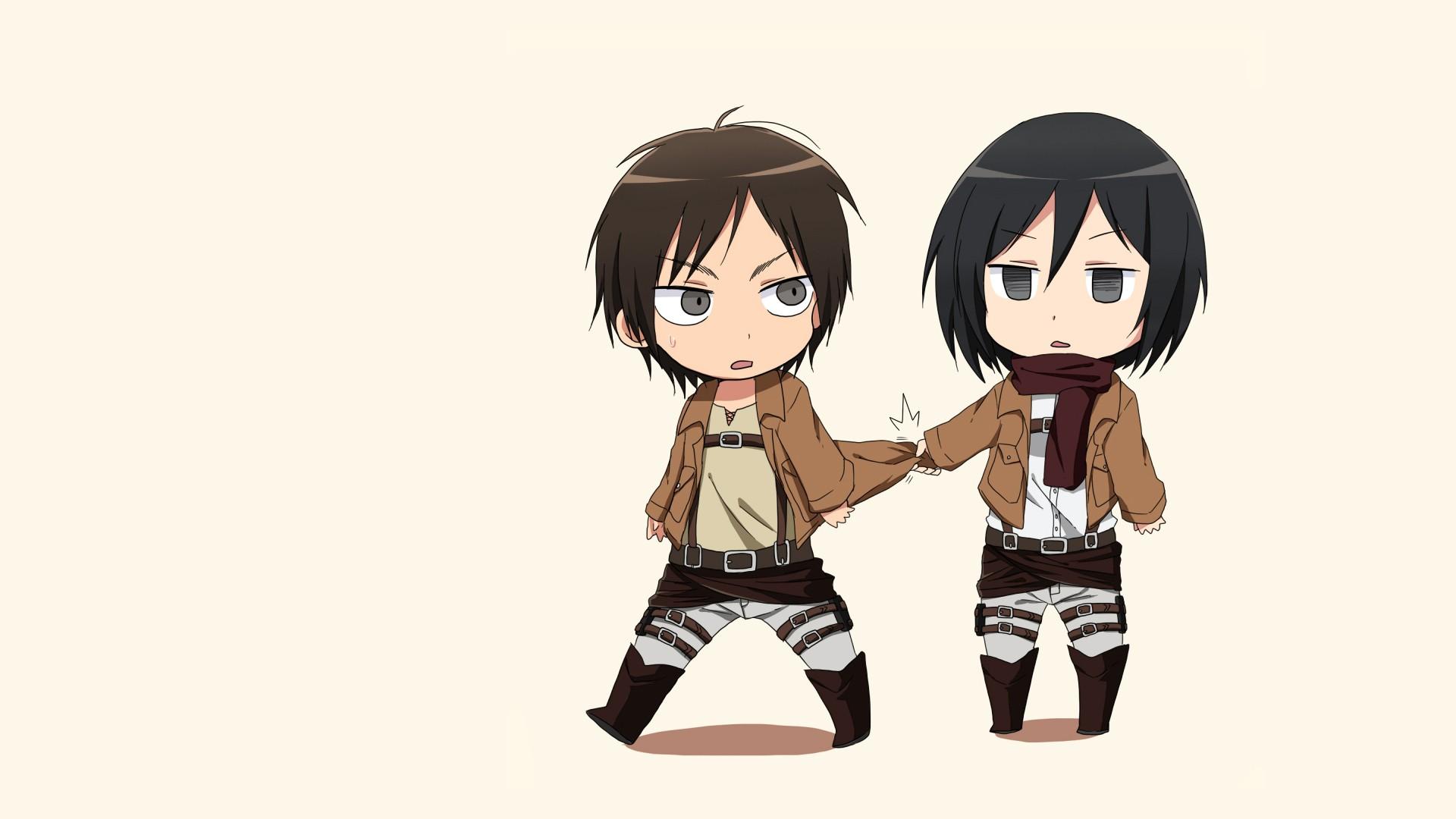 Eren And Mikasa Clipart.