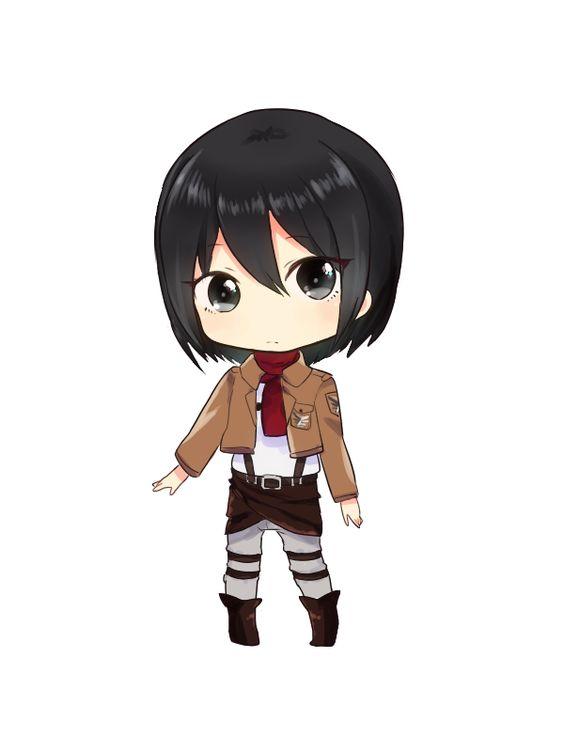 Attack On Titan Clipart Mikasa.