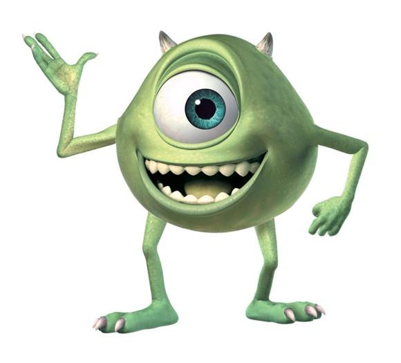 Monsters Inc Mike Wazowski Clipart.