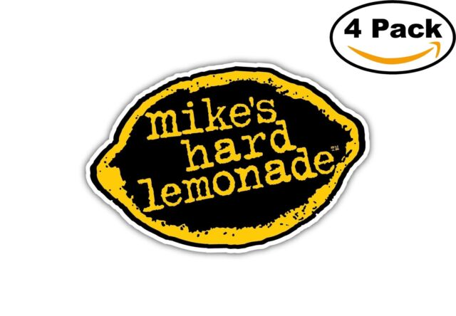 MIKES HARD LEMONADE Sticker Bar Wall Bumper Logo Drink 3x5.