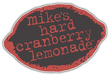 Amazon.com: Mike\'s Hard Cranberry Lemonade Logo Sticker Car.