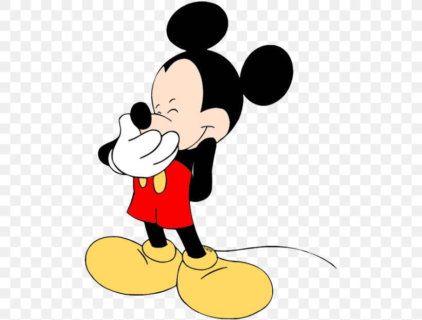 Mickey Mouse Minnie Mouse Pluto Clip Art, PNG, 500x622px.