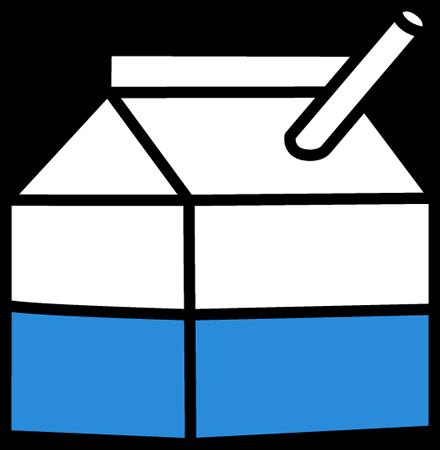 School Milk Clip Art.