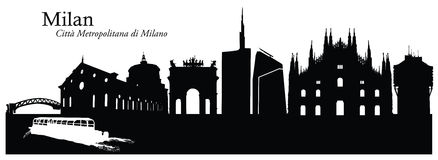 Milan Stock Illustrations.