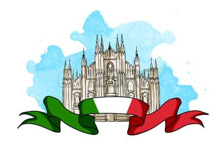 209 Milan Cathedral Stock Vector Illustration And Royalty Free.