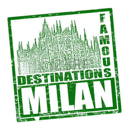 89 Milano Tourism Stock Vector Illustration And Royalty Free.