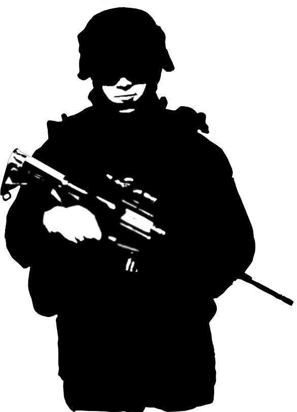 Patriotic Soldier Silhouette Vector Download Soldier Silhouette.
