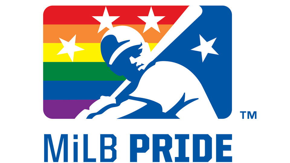 Minor League Baseball establishes largest Pride celebration.