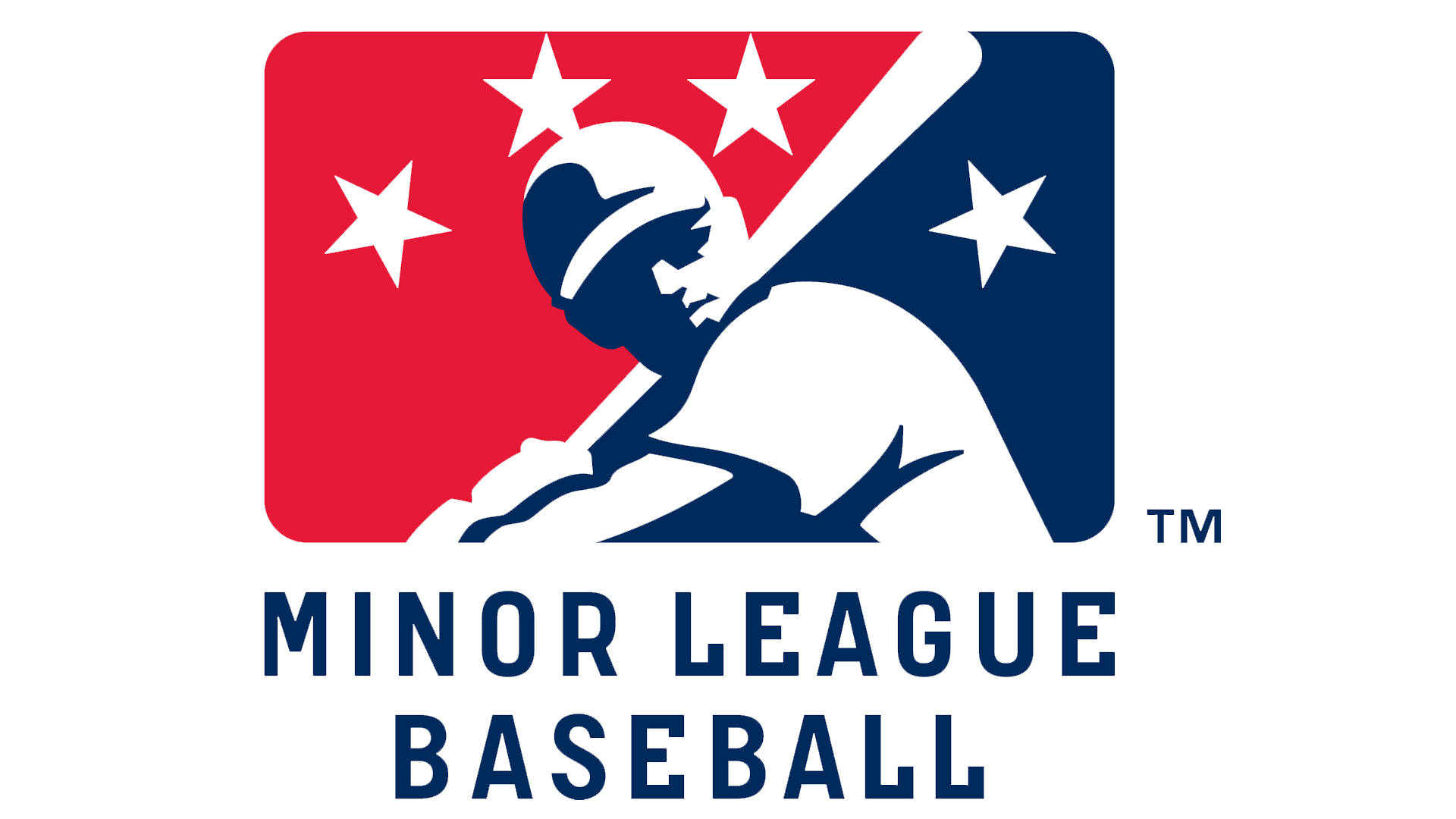 Meaning Minor League Baseball logo and symbol.